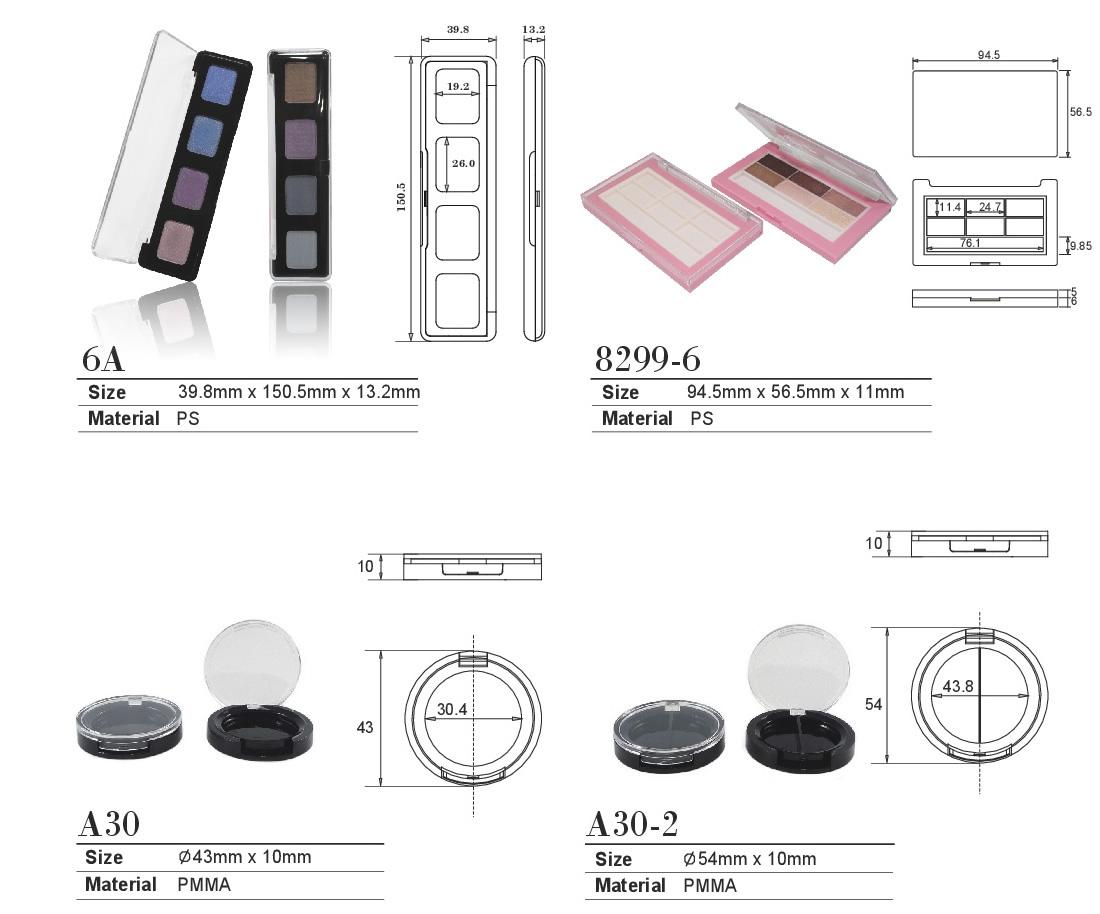 コンパクト チーク ファンデーション 容器 化粧品容器